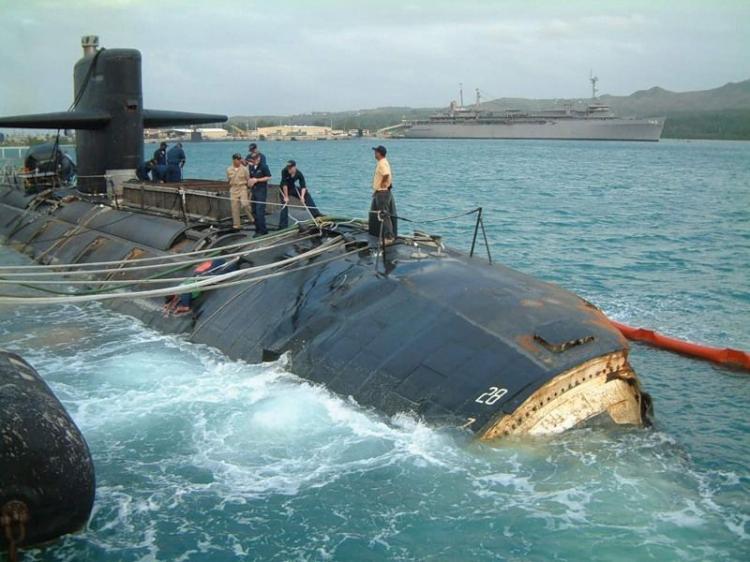 подводная лодка подъем из воды