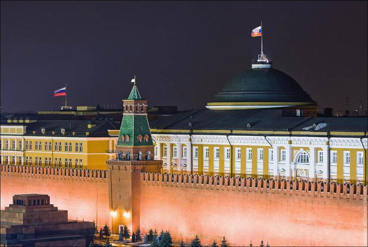 Красная площадь в вечернее время (30 фото)