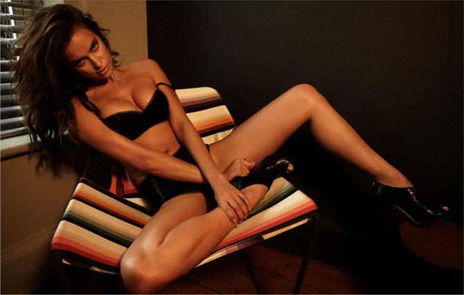 Ирина Шейк в журнале Esquire