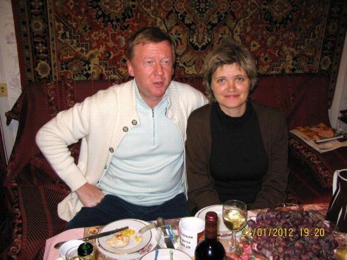 Свадьба Анатолия Чубайса и Дуни Смирновой (6 фото)