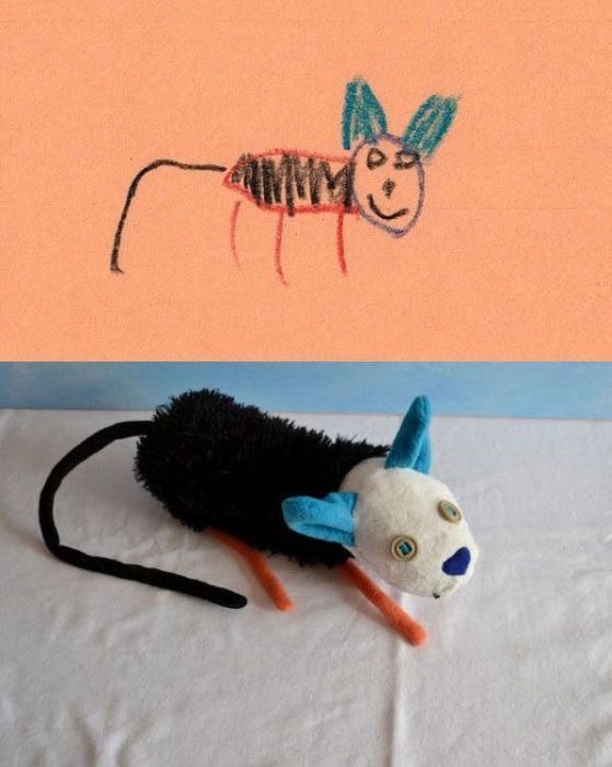 Воплощенные в жизнь детские рисунки