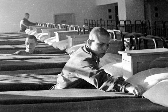 Ретро-фотографии советских пограничников