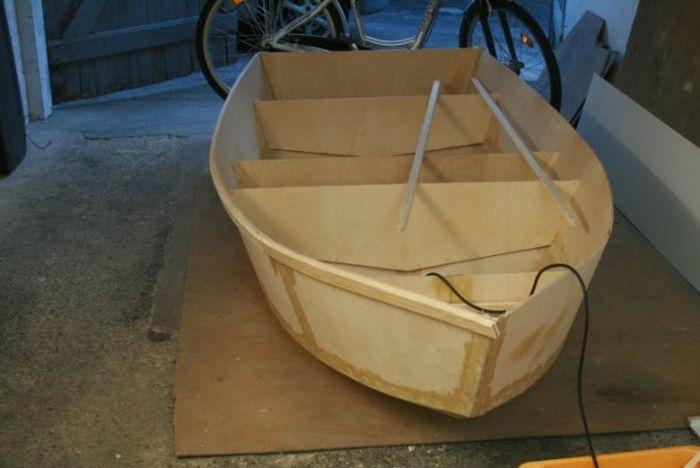 Своими руками изготовление лодки