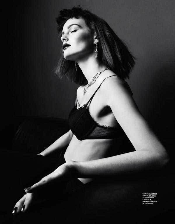 Блоги. Эротическая фотосессия в SnC Magazine (10 фото). фото ню, эроика, эро фотосет, SnC Magazine, Ксения Назаренко