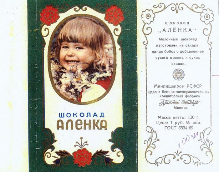 Про шоколадку Алёнку (6 фото+текст)