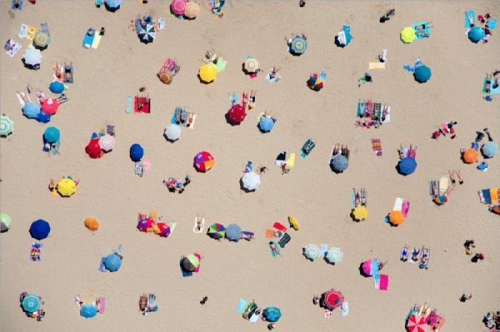 Блоги. Фотографии с высоты лучших пляжей (16 фото). пляжи, отдых, солнце, море, песок