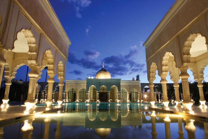 Блоги. Экстравагантный отель Palais Namaskar в Марракеше (41 фото). отель, марокко, роскошь