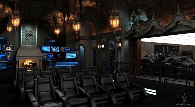 Блоги. Кинотеатр - Пещера Бэтмэна (5 фото). кинотеатр, бэтмен, необычное, фото