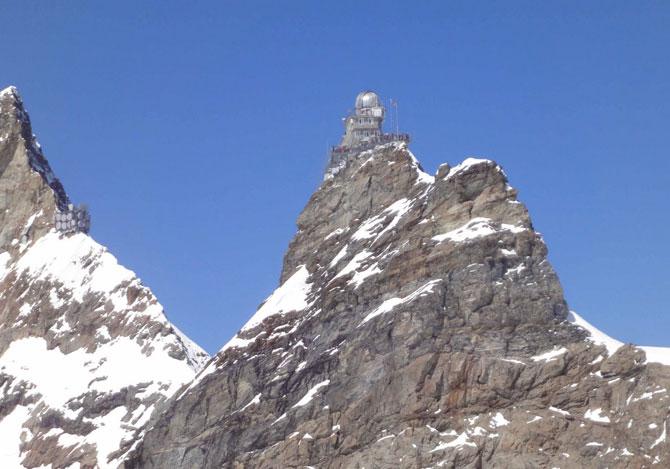 Блоги. Уникальная обсерватория Sphynx в швейцарских Альпах (12 фото). обсерватория, швейцария, Sphynx, альпы