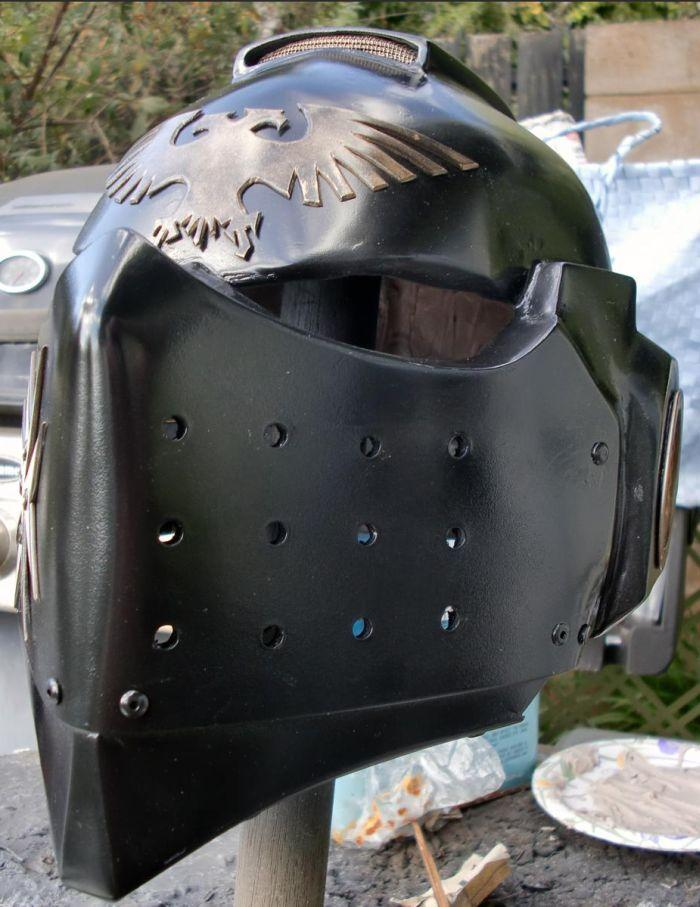 Блоги. Костюм космического пехотинца из Warhammer (14 фото). костюм, фанат, warhammer,