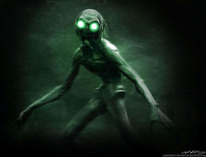 Блоги. Пришельцы в иллюстрациях Джареда Кричевски (19 фото). пришельцы, арт, иллюстрации, джаред кричевски