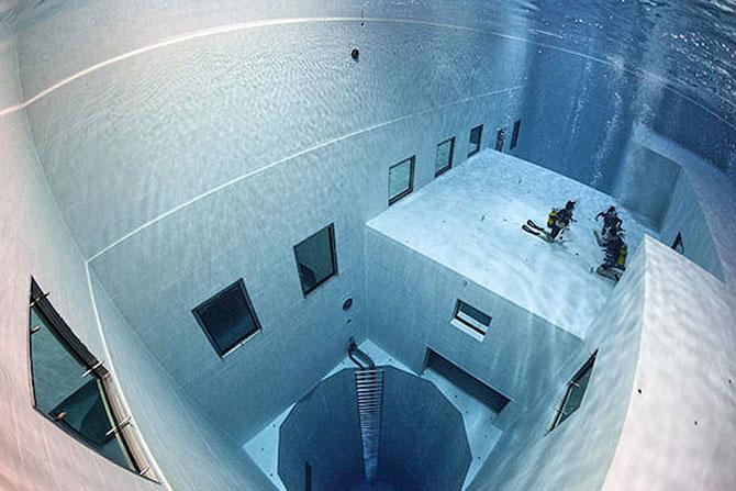 Nemo 33 – cамый глубокий бассейн в мире