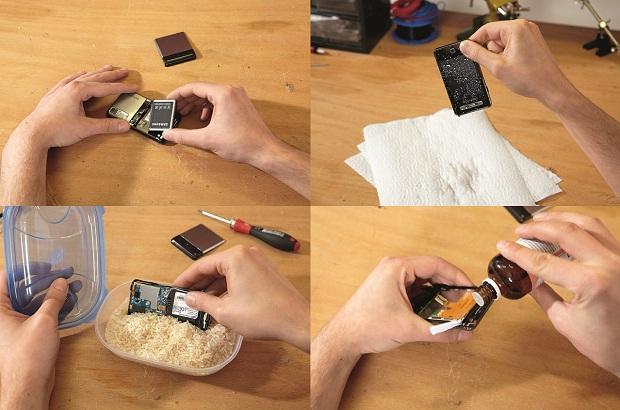 Как высушит телефон от воды в домашних условиях