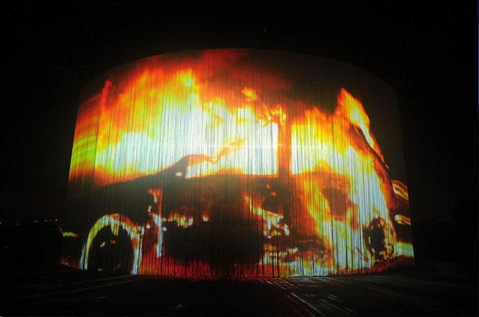 Блоги. Кино на 720° - открытый кинотеатр в Иерусалиме (6 фото). современное, кинотеатр, будущее, иерусалим,