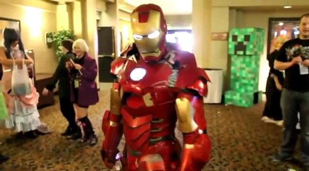 """Нереально крутой костюм """"Железного человека"""""""