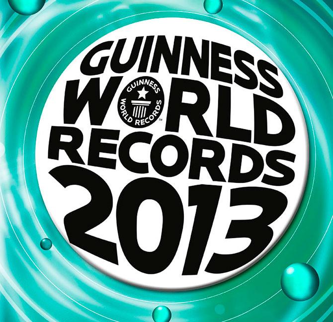 Книга рекордов Гиннесса 2013