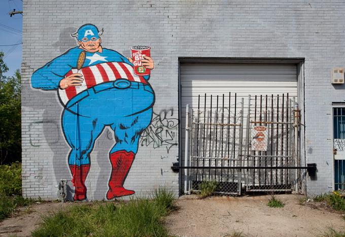 Уличный художник Sever (19 фото)