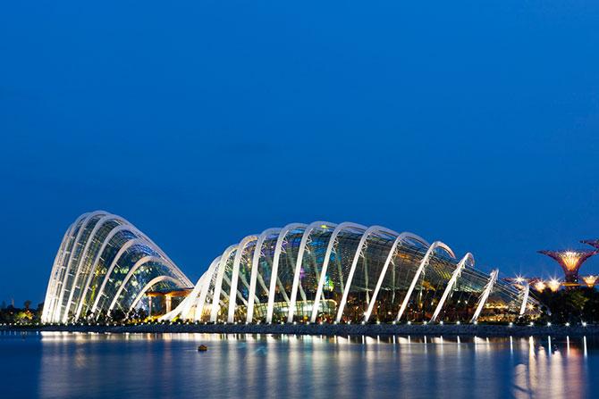 Зимние сады в Сингапуре — лучшее здание в мире
