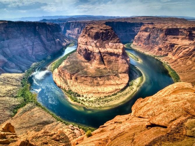 Природная подкова в Аризоне
