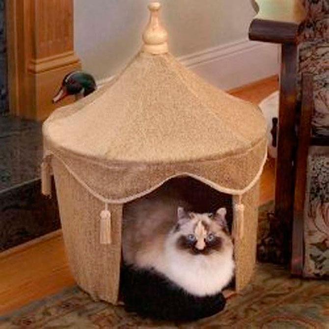 Для кошек домики сделать 79