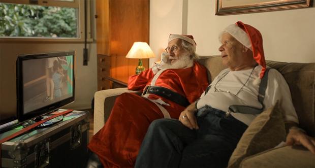 В Бразилии установили телефонную будку связи с Санта Клаусом