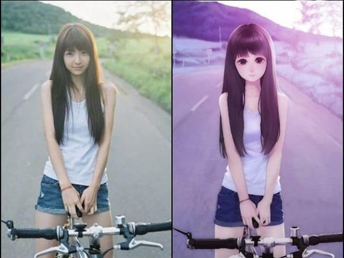 Из фотографии в аниме 25 фото