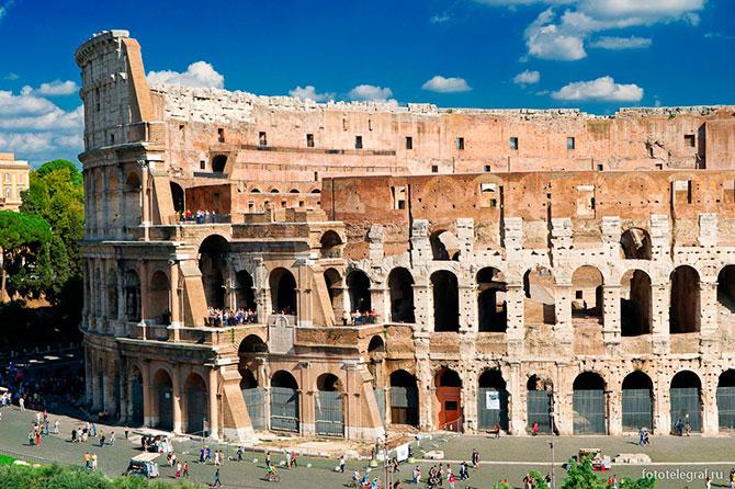 Прогулки по Риму. Колизей