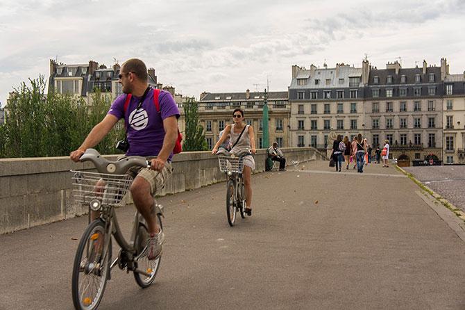 Общественный транспорт в Париже
