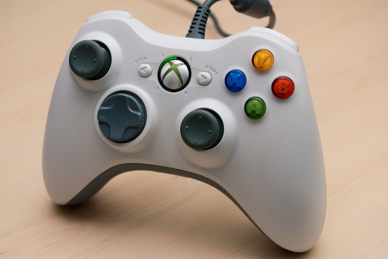 An XBox 360 Wired Controller
