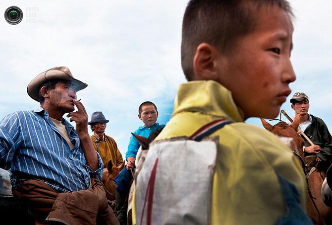 Монгольские кочевники