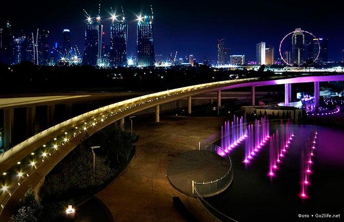 Marina Bay Sands - чудо света в Сингапуре