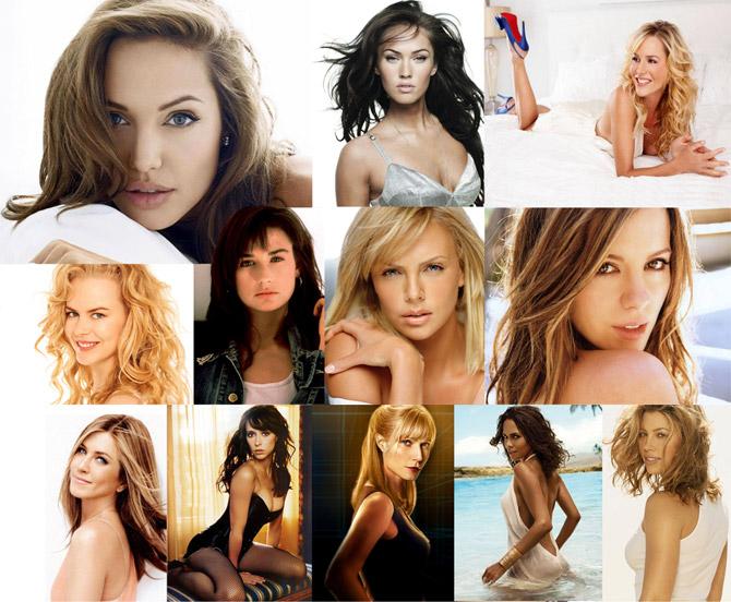 Самые сексуальные актрисы 90