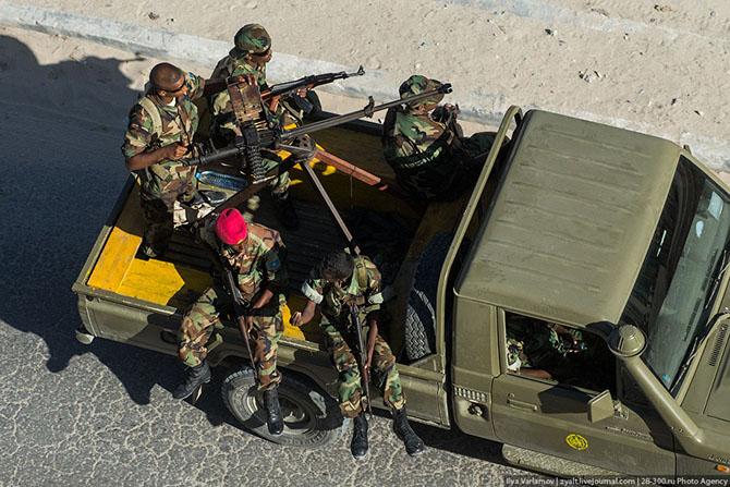 Путешествие в Могадишо, Сомали