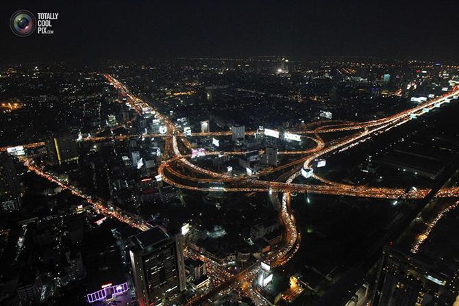 Яркие огни Бангкока
