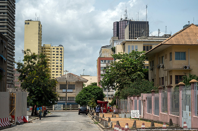 Прогулка по Абиджану в Кот-д'Ивуаре