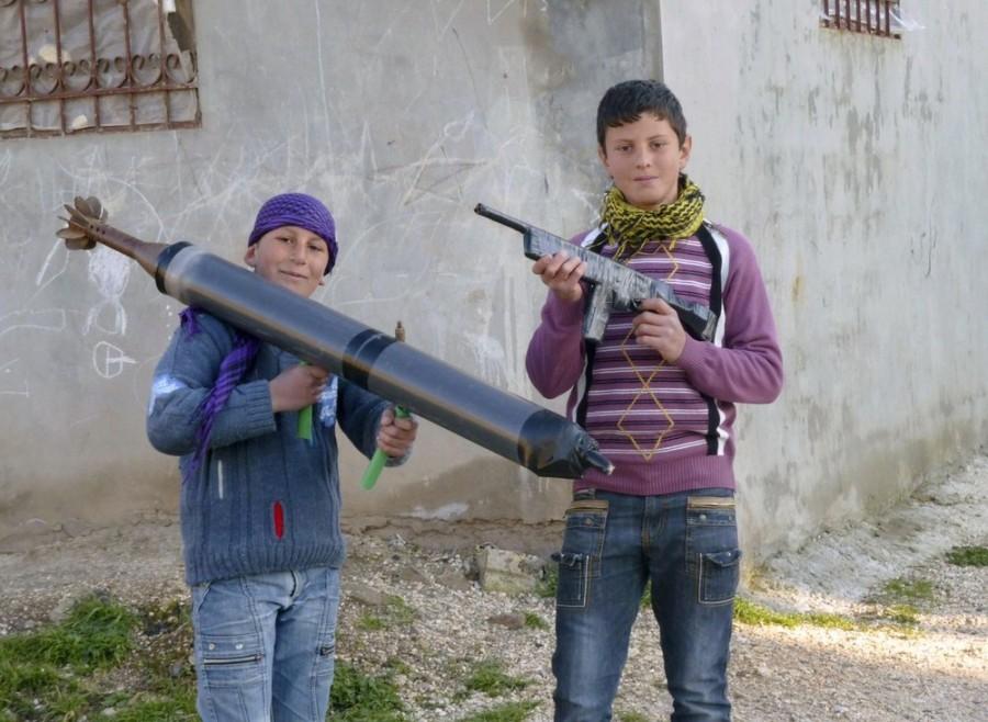 сирийские дети фото
