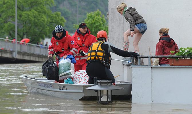 Наводнения в Европе