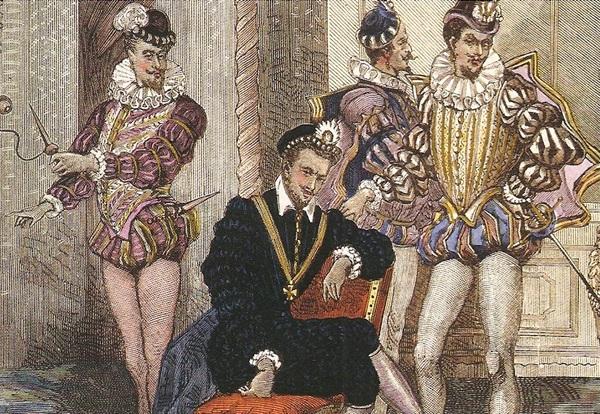 Генриха III и миньоны