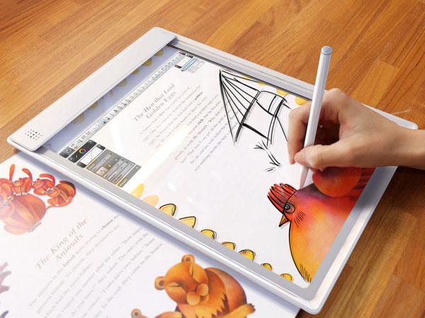Рисовать схемы на планшете