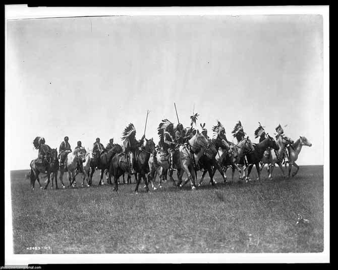 Жизнь североамериканских индейцев