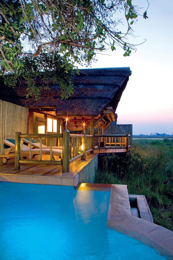 Отель в африканском стиле