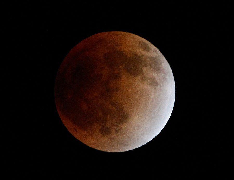 zat4 Полное лунное затмение 10 декабря 2011г (15 фото)