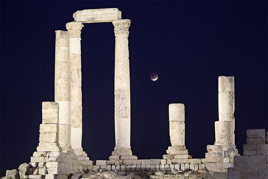 zat7 Полное лунное затмение 10 декабря 2011г (15 фото)