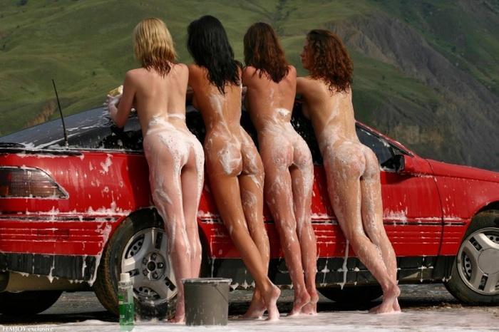 голые бабы с авто фото