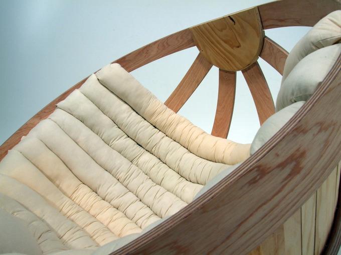 Кресло - качалка Cradle (10 фото)