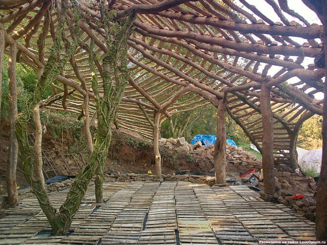 Как построить домик хоббита