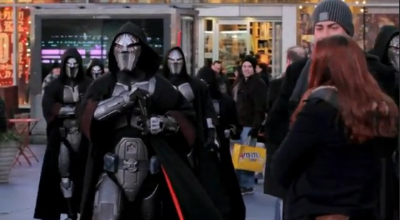 STAR WARS™: The Old Republic™ - Times Square Freeze Mob
