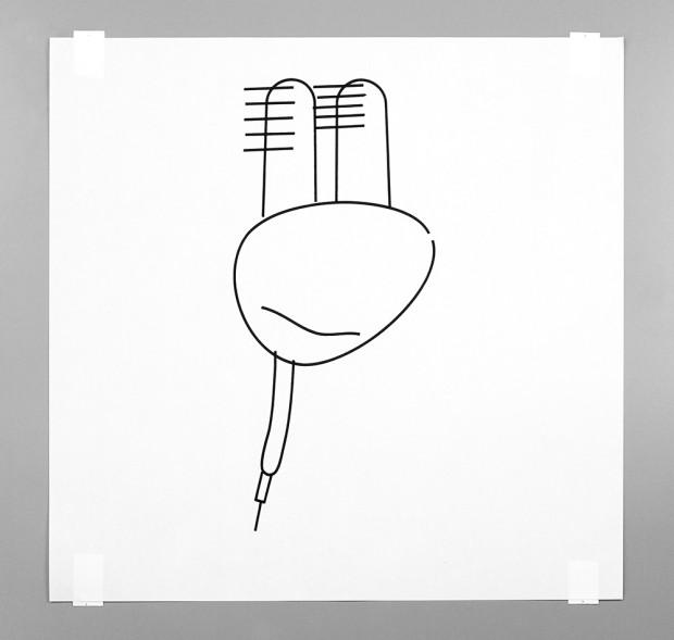 Существует робот-художник, пишущий картины в жанре абстракционизма (9 фото)