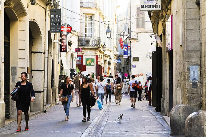 Прогулка по французскому Монпелье