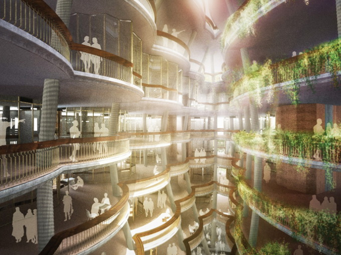 Центр обучения в Сингапуре (7 фото)